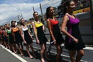 Barcelona 2018: Zeitreise mit den schönsten Grid Girls aus Spanien - Formel 1 2016, Verschiedenes, Spanien GP, Barcelona, Bild: Sutton