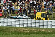 Startunfall: Rosberg/Hamilton - Formel 1 2016, Spanien GP, Barcelona, Bild: Sutton