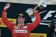 Podium - Formel 1 2016, Spanien GP, Barcelona, Bild: Ferrari
