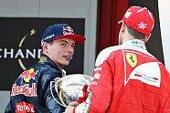 Podium - Formel 1 2016, Spanien GP, Barcelona, Bild: Red Bull