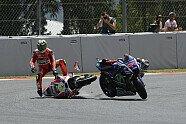 Kollision Lorenzo vs. Iannone - MotoGP 2016, Verschiedenes, Katalonien GP, Barcelona, Bild: Milagro