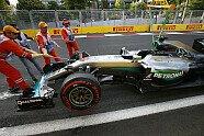 Hamilton-Unfall - Formel 1 2016, Europa GP, Baku, Bild: Sutton