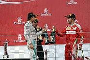 Podium - Formel 1 2016, Europa GP, Baku, Bild: Sutton
