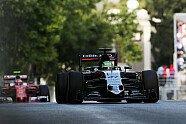 Rennen - Formel 1 2016, Europa GP, Baku, Bild: Force India