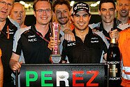 Sonntag - Formel 1 2016, Europa GP, Baku, Bild: Force India