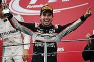 Podium - Formel 1 2016, Europa GP, Baku, Bild: Force India