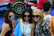 Girls - Formel 1 2016, Europa GP, Baku, Bild: Sutton