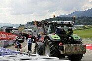Kvyat-Unfall - Formel 1 2016, Österreich GP, Spielberg, Bild: Sutton