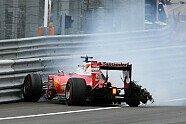 Reifenschaden Vettel - Formel 1 2016, Österreich GP, Spielberg, Bild: Sutton