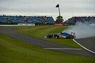 Ericsson-Unfall - Formel 1 2016, Großbritannien GP, Silverstone, Bild: Sutton