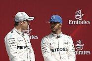 Podium - Formel 1 2016, Großbritannien GP, Silverstone, Bild: Sutton
