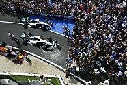 Podium - Formel 1 2016, Großbritannien GP, Silverstone, Bild: Mercedes-Benz
