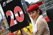 Girls - Formel 1 2016, Großbritannien GP, Silverstone, Bild: Sutton