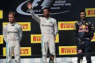 Podium - Formel 1 2016, Ungarn GP, Budapest, Bild: Sutton