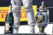 Podium - Formel 1 2016, Ungarn GP, Budapest, Bild: Mercedes-Benz