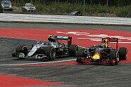 Zweikampf Rosberg vs. Verstappen - Formel 1 2016, Deutschland GP, Hockenheim, Bild: Sutton