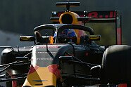 Halo-Test in Spa - Formel 1 2016, Belgien GP, Spa-Francorchamps, Bild: Sutton