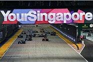 Start-Unfall Hülkenberg - Formel 1 2016, Singapur GP, Singapur, Bild: Sutton