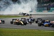 Start-Unfall Vettel/Rosberg - Formel 1 2016, Malaysia GP, Sepang, Bild: Sutton