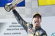 Podium - Formel 1 2016, Malaysia GP, Sepang, Bild: Sutton