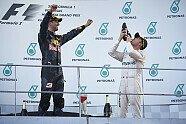 Podium - Formel 1 2016, Malaysia GP, Sepang, Bild: Mercedes-Benz