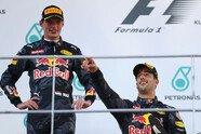 Podium - Formel 1 2016, Malaysia GP, Sepang, Bild: Red Bull