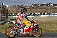 So feiert Marquez seinen Titelgewinn - MotoGP 2016, Japan GP, Motegi, Bild: HRC