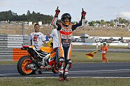 So feiert Marquez seinen Titelgewinn - MotoGP 2016, Japan GP, Motegi, Bild: Repsol