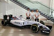 Hier stellt Williams Lance Stroll vor - Formel 1 2016, Präsentationen, Bild: Sutton