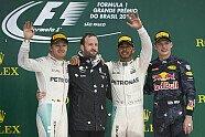 Podium - Formel 1 2016, Brasilien GP, São Paulo, Bild: Mercedes-Benz
