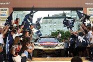 12. Etappe & Podium - Dakar 2017, Bild: Peugeot