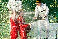 Podium - Formel 1 2017, Australien GP, Melbourne, Bild: Sutton