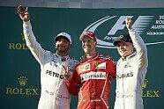 Podium - Formel 1 2017, Australien GP, Melbourne, Bild: Mercedes-Benz