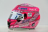 Fahrerhelme Saison 2017 - Formel 1 2017, China GP, Shanghai, Bild: Sutton