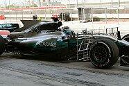Testfahrten - Technik - Formel 1 2017, Testfahrten, Bahrain, Sakhir, Bild: Sutton