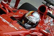 Testfahrten - Mittwoch - Formel 1 2017, Testfahrten, Bahrain, Sakhir, Bild: Ferrari