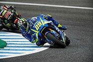 Freitag - MotoGP 2017, Spanien GP, Jerez de la Frontera, Bild: Suzuki