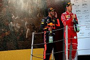 Podium - Formel 1 2017, Spanien GP, Barcelona, Bild: Sutton