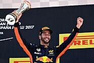 Podium - Formel 1 2017, Spanien GP, Barcelona, Bild: Red Bull