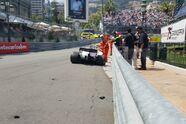 Stroll zerstört seinen Williams - Formel 1 2017, Monaco GP, Monaco, Bild: Motorsport-Magazin.com
