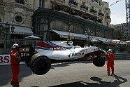 Stroll zerstört seinen Williams - Formel 1 2017, Monaco GP, Monaco, Bild: Sutton