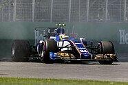 Wehrlein crasht im Qualifying - Formel 1 2017, Kanada GP, Montreal, Bild: Sutton