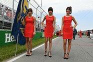 Kanada: Zeitreise mit den heißesten Girls aus Montreal - Formel 1 2017, Verschiedenes, Kanada GP, Montreal, Bild: Sutton