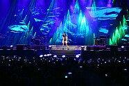 F1-Konzert: Black Eyed Peas & Nicole Scherzinger - Formel 1 2017, Aserbaidschan GP, Baku, Bild: Sutton