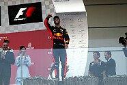 Podium - Formel 1 2017, Aserbaidschan GP, Baku, Bild: Sutton