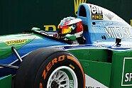 Mick Schumacher im Benetton - Formel 1 2017, Belgien GP, Spa-Francorchamps, Bild: LAT Images