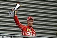 Podium - Formel 1 2017, Belgien GP, Spa-Francorchamps, Bild: Ferrari