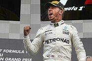 Podium - Formel 1 2017, Belgien GP, Spa-Francorchamps, Bild: Mercedes-Benz