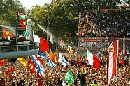 Podium - Formel 1 2017, Italien GP, Monza, Bild: LAT Images