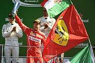Podium - Formel 1 2017, Italien GP, Monza, Bild: Sutton